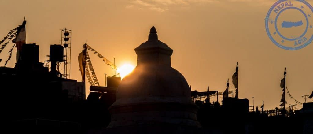 24 Hours in Kathmandu - city skyline