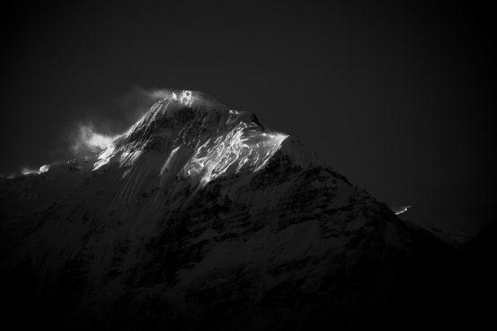 Mountain bike tour Nepal - windy heights