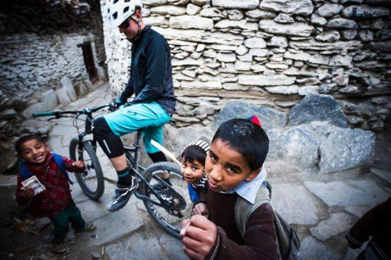 Mountain bike tour Nepal - the local enforcer
