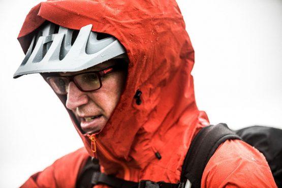 Mountain bike tour Norway - damp closes in