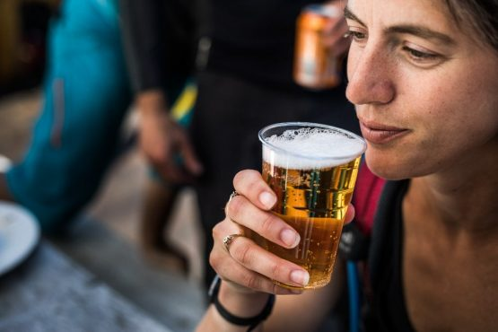 Mountain bike tour Norway - beer o-clock