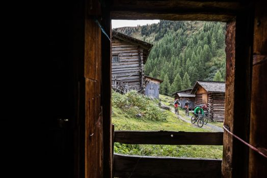 Weaving through alpine villages is an exciting street riding experience on our mountain bike tour Switzerland.