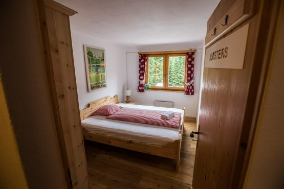Mountain chalet living in the Swiss alps, mountain bike tour Switzerland at its best!