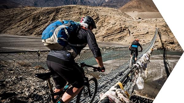 Essence of mountain biking in Nepal