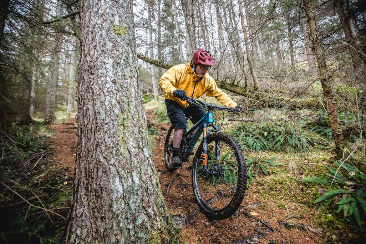How to Ride Wet Trails on a Mountain Bike.