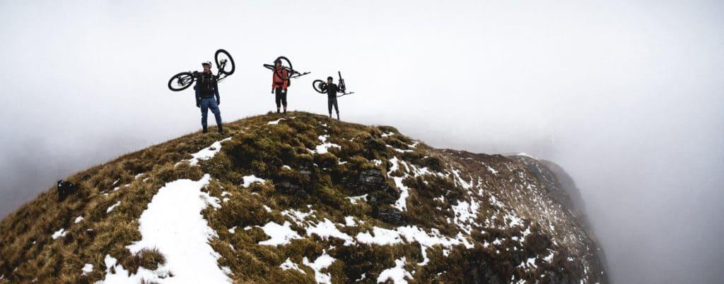 Joe Barnes, Max Schumann, and Euan Wilson on a ride out west in Scotland.Joe Barnes, Max Schumann, and Euan Wilson on a ride out west in Scotland.
