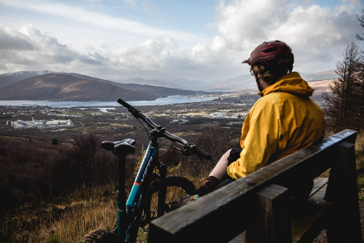 H+I guide Mark Clark looks out over Fort William.