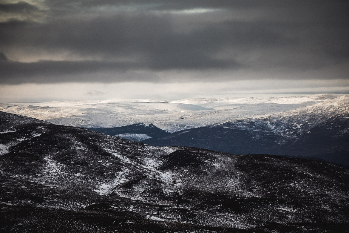Jono Baldwin, Cairngorms view