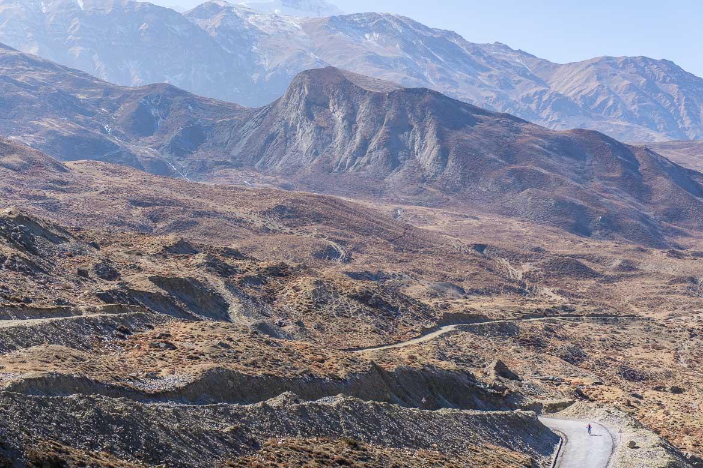 Mustang Valley, Nepal - taming the climb