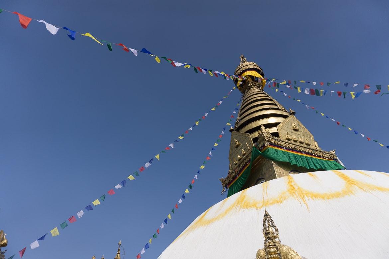 Mustang Valley, Nepal - Kathmandu temple top