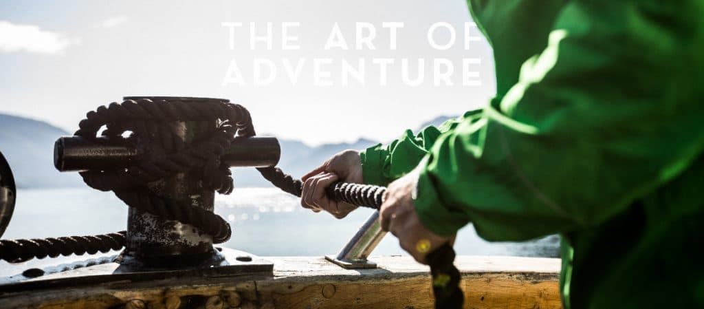 The Art of Adventure - mooring Gåssten, MTB holidays experts