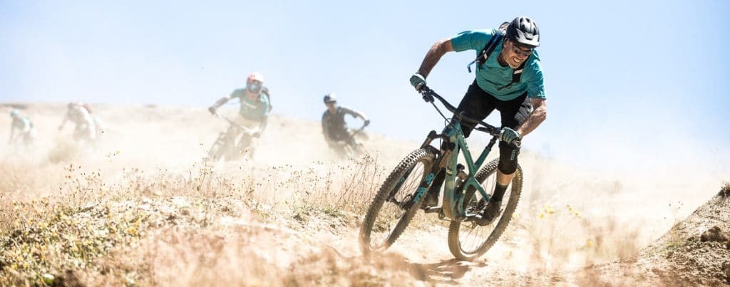 International Yeti Tribe New Zealand mountain bike tour Cover Image