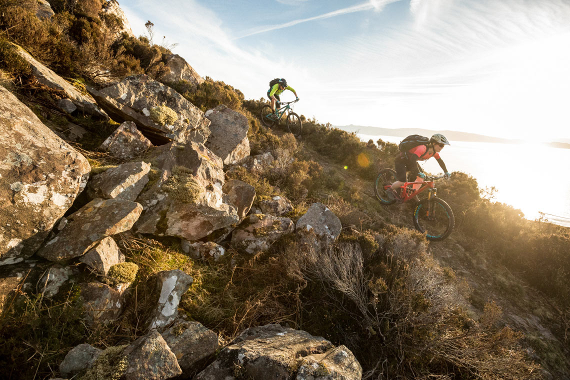 View our mountain bike tour calendar