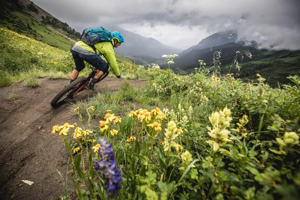 Mountain bike guide Colorado - Ben