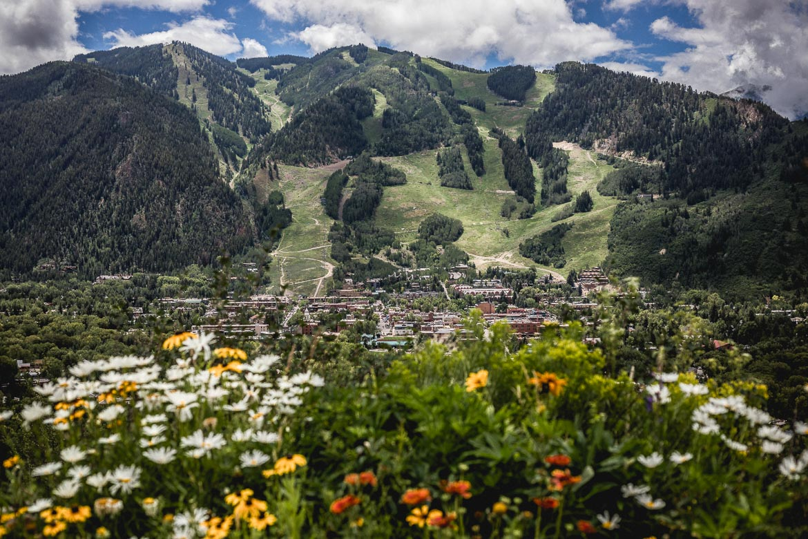 Aspen is one of our first port of calls in our mountain bike tour Colorado.