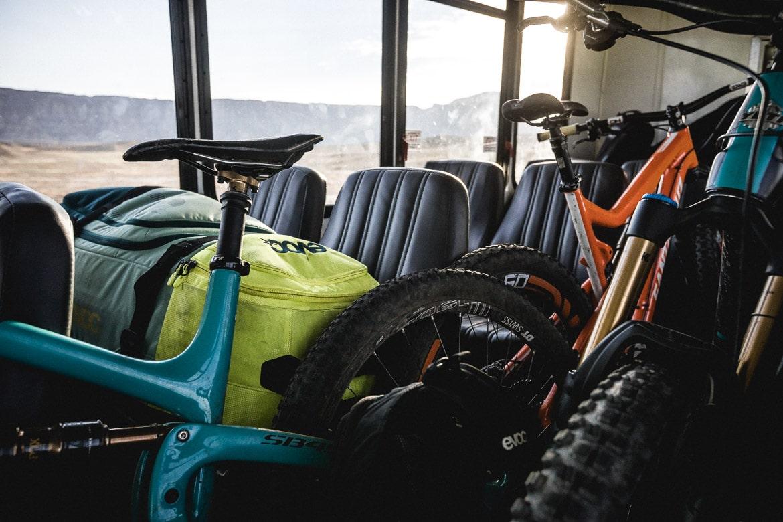 Transfer to Fruita during our mountain bike tour Colorado.