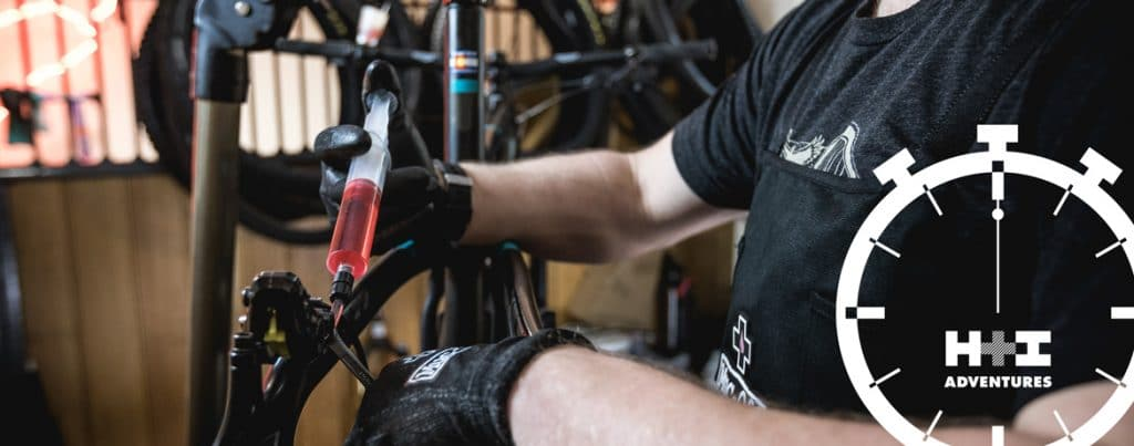 how to bleed Shimano brakes - the MTB Minute