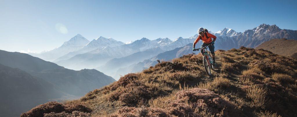 RJ Ripper Magar, Nepali mountain bike guide
