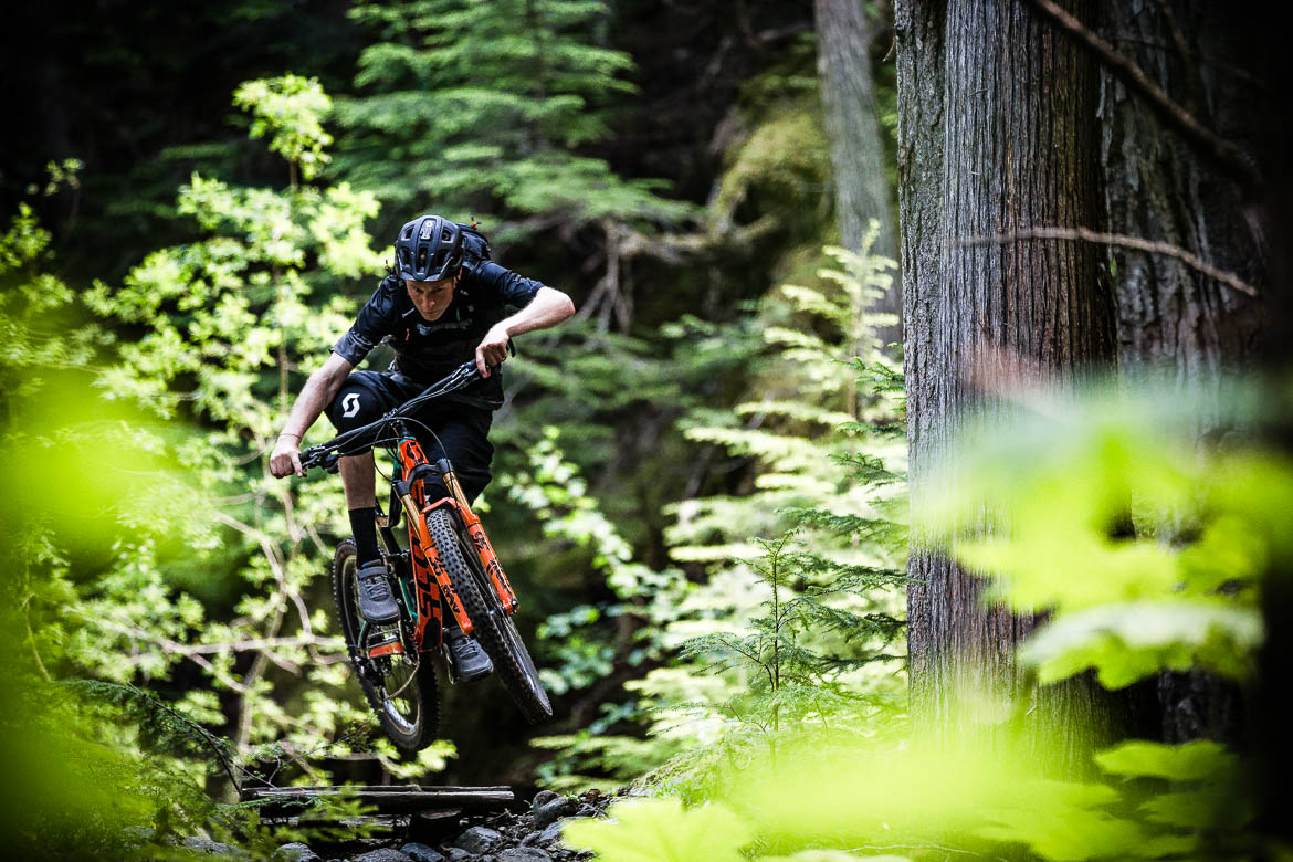Our mountain bike tour in BC, Canada has trails for even the most skilful of riders