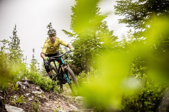 Singletrack in BC, Canada is never-ending