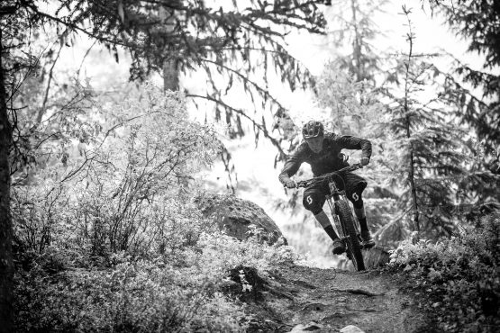 Singletrack goes on for miles in British Columbia, Canada