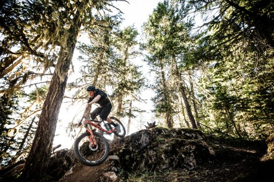 Loam, rock drops and concentration in BC, Canada