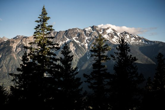British Columbia is a must do location for MTB holidays, one view of many on our tour