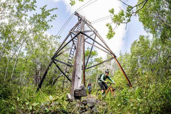 Racing through history on the MTB trails of the Yukon