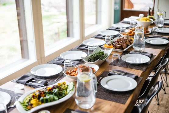 Enjoy the perfect food from our mountain lodge on your MTB nation in the Yukon