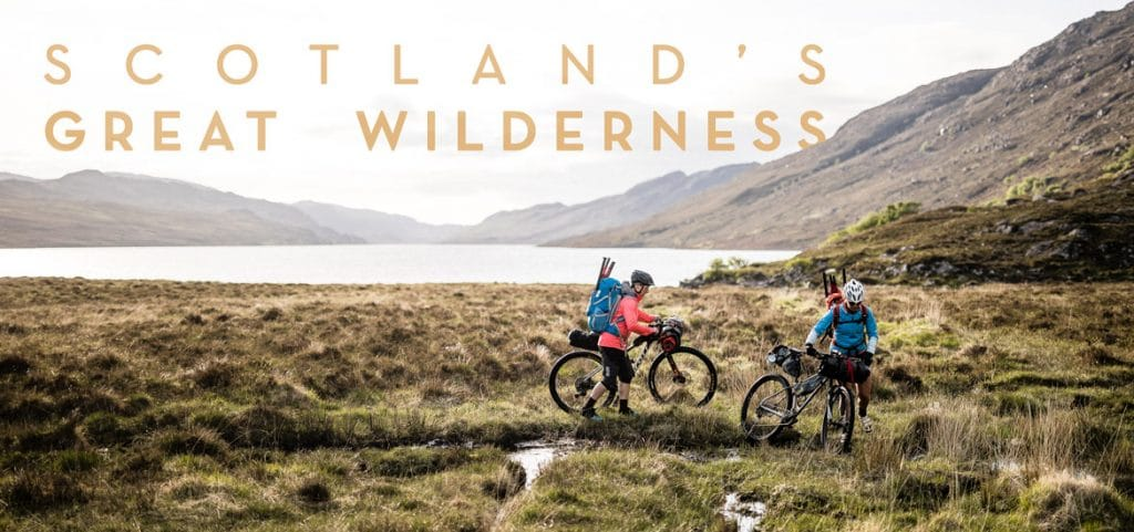 Bikerafting in Scotland - not always about mountain biking or rafting!