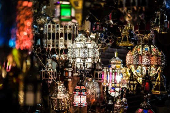 Local crafts in the souks of Morocco on our MTB tour, Africa. Part of our favourite tips for 24 hours in Marrakech in this handy city guide.
