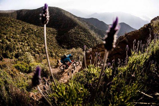 Eric porter rides beautiful MTB singletrack through the High Atlas in Morocco