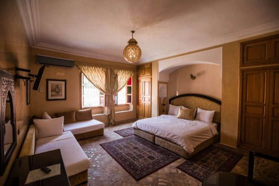 A stunning example of the accommodation on our mountain bike holiday Morocco