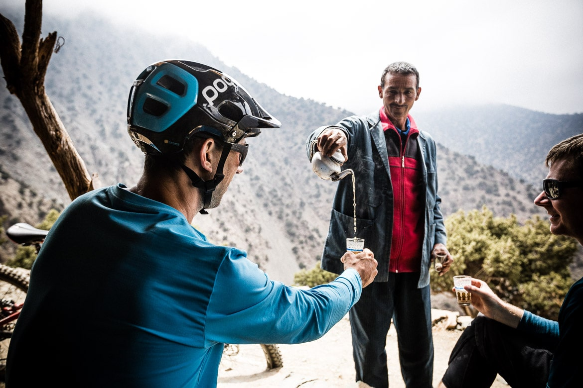 MTB vacation Morocco in photos - mint tea