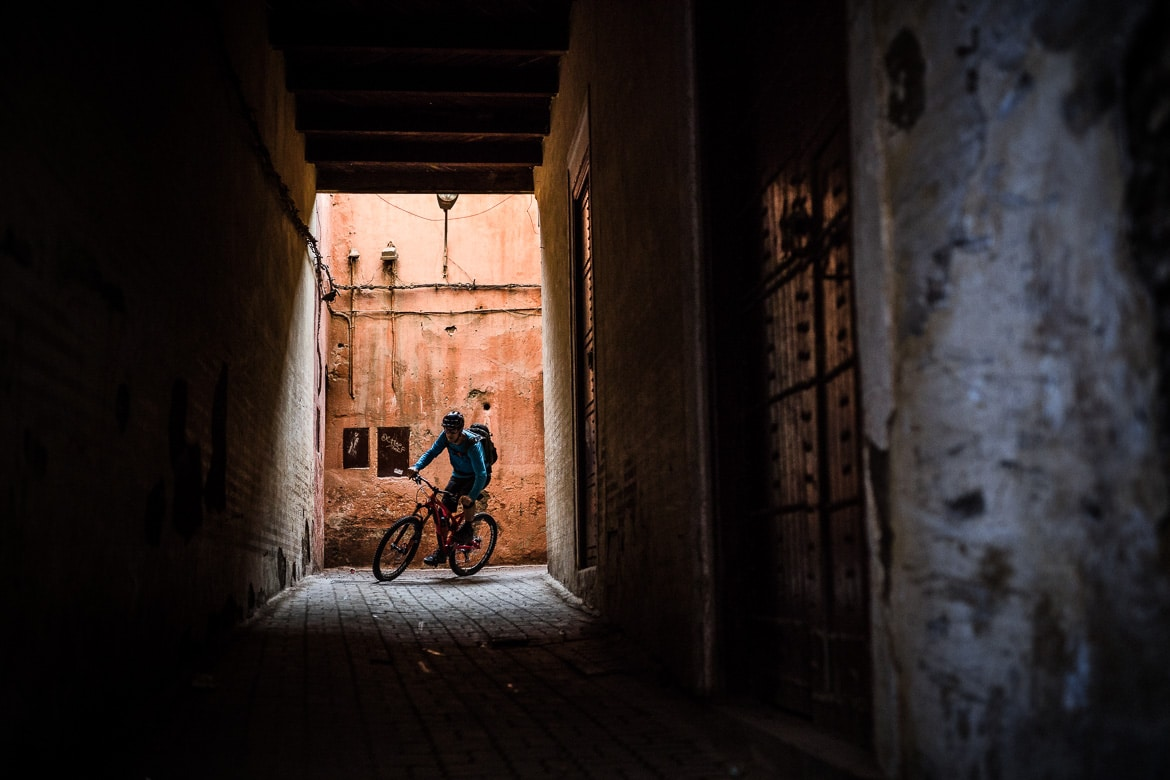 Mountain bike tour Morocco in photos - marrakech riding