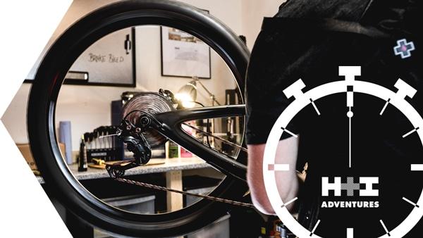 Ultimate Yeti SB55 mountain bike - MTBminute installing Shimano gear cable