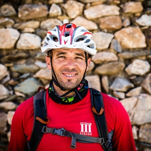mountain bike tour guides - Lahcen Morocco