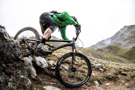 Yeti tribe gathering Switzeland - alpine MTB trails