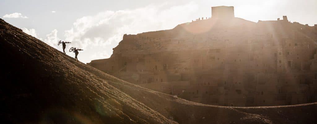 Mountain bike adventures Africa, hike-a-biking in Morocco