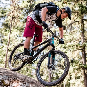 mountain bike tour guides - Ali Adams in BC