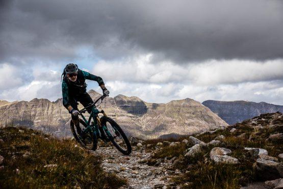 Olympian Paul Rowney on a Mountain bike tour Torridon and Skye