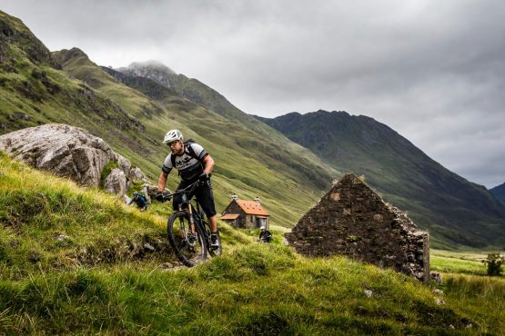 Ride with Scotty Laughland on our Scottish MTB tour