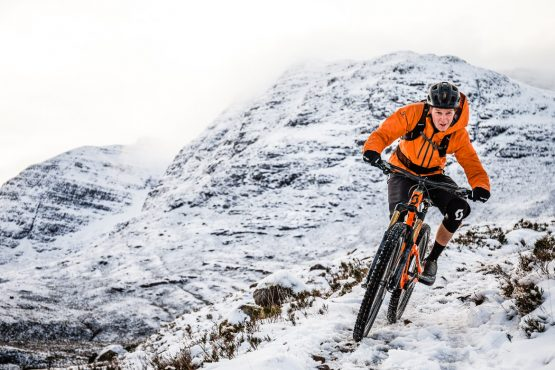 Ride with Scotty Laughland through Scottish hills on his MTB tour