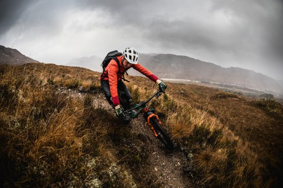 Ride with Scotty Laughland on his Scottish mountain bike tour