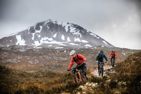 Ride with Scotty Laughland on his home trails