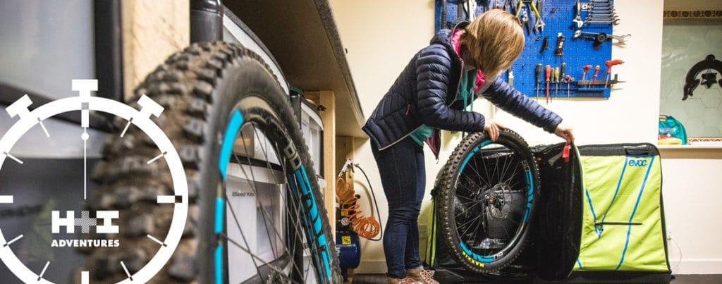 MTB Minute how to unpack your mountain bike H+I Adventures