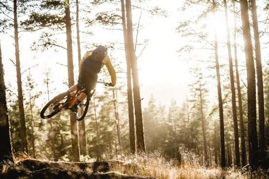 Ride with Scotty Laughland - mountain bike style