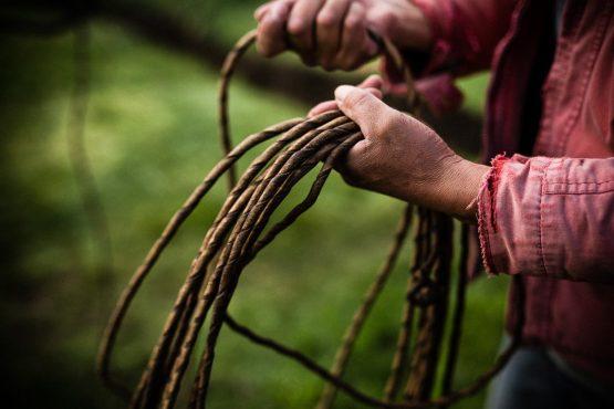 Chagra tools of the trade on our mountain bike tour Ecuador