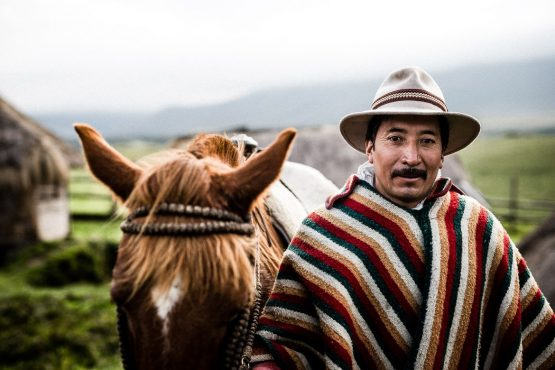 MTB vacation Ecuador with incredible chagra hosts