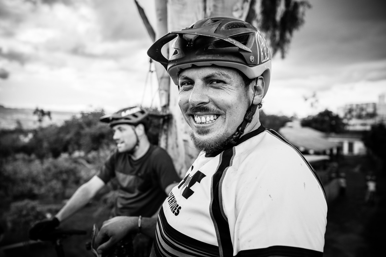 Portrait of local mountain bike guide Ecuador José Jijon.